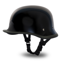 Шлем BIG GERMAN- HI-GLOSS BLACK