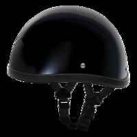 Шлем SMOKEY W/O SNAPS- HI-GLOSS BLACK