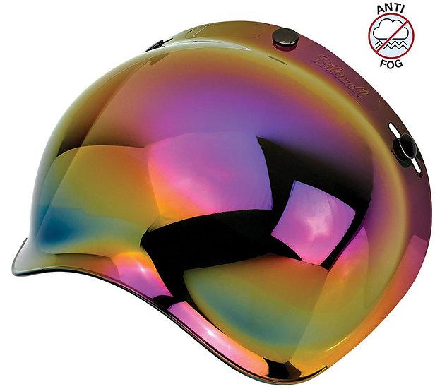 Визор Biltwell Bubble Shield - Mirror Rainbow Antifog