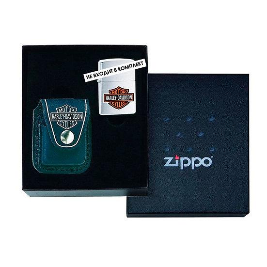 Чехол для зажигалки, подарочная упаковка Zippo Harley-Davidson Lighter Pouch / G