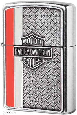 Зажигалка Zippo Harley-Davidson H-D Plate  Lighter