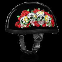 Шлем EAGLE- W/ ROSE SKULLS