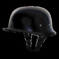 Шлем GERMAN- HI-GLOSS BLACK