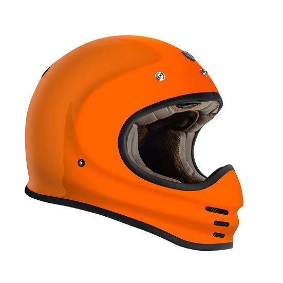 Шлем TORC T-3 FULL FACE RETRO MOTO GLOSS ORANGE