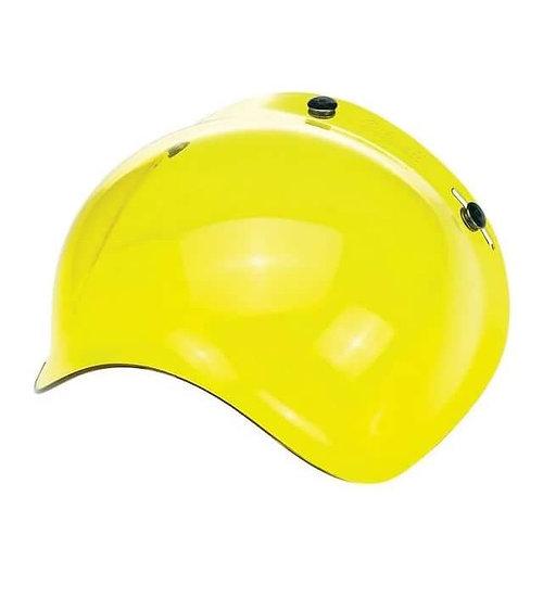 Визор Biltwell Bubble Shield - Yellow Solid
