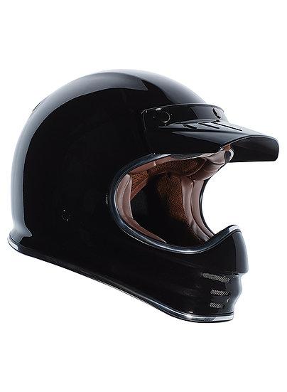 Шлем TORC T-3 FULL FACE RETRO MOTO GLOSS BLACK