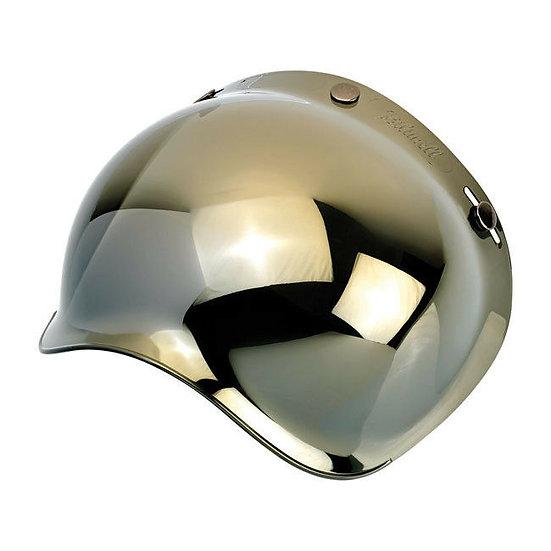 Визор Biltwell Bubble Shield - Mirror Gold Antifog