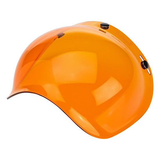 Визор Biltwell Bubble Shield - Amber Antifog
