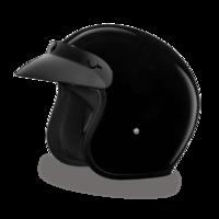 Шлем D.O.T. DAYTONA CRUISER- HI-GLOSS BLACK