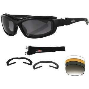 Bobster Road Hog II Convertible and Interchangeable Sunglasses
