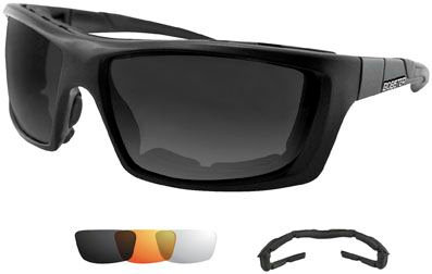Bobster Trident Polarized Convertible and Interchangeable Sunglasses