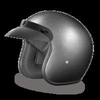 Шлем D.O.T. DAYTONA CRUISER- GUN METAL GREY METALLIC