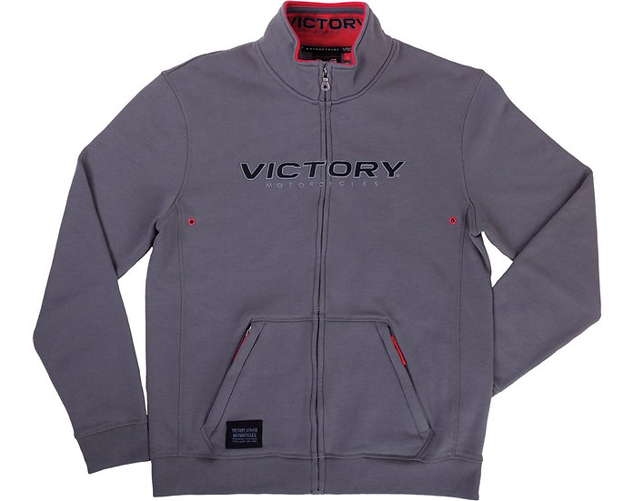 Толстовка MEN'S MIDWAY ZIP THRU - GRAY