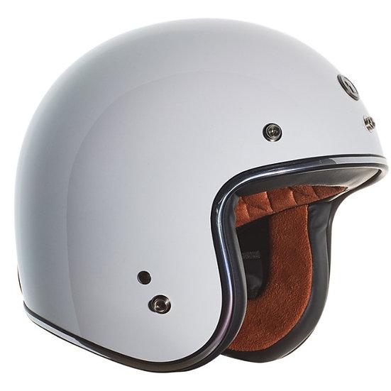 Шлем TORC T-50 3/4 RETRO GLOSS WHITE