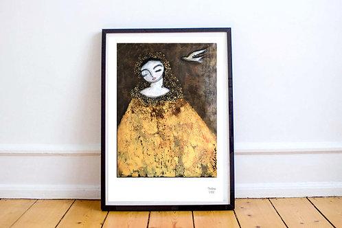 La Madonna - Art PRINT
