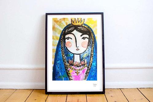 Bendice (Blessing, Virgin Mary) - Art PRINT