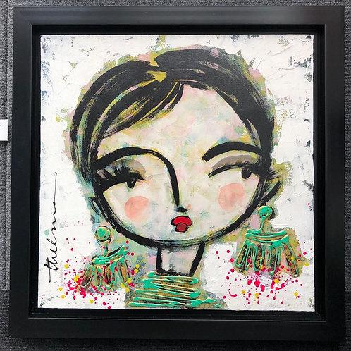 Original painting on canvas - Laura