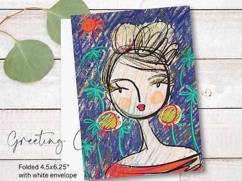 Greeting Card Print - Penelope