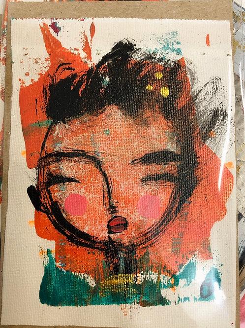 Mini Art Piece - Adelle