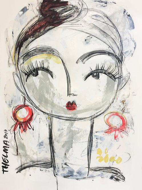 Nina - Art PRINT