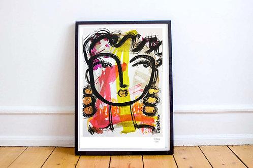 Dora - Art PRINT