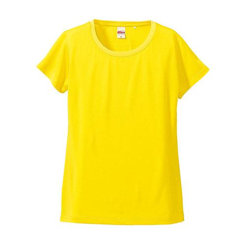 4.7オンス ドライシルキータッチ Xライン Tシャツ(ローブリード)〈ガールズ〉【5088-04】(無地価格)
