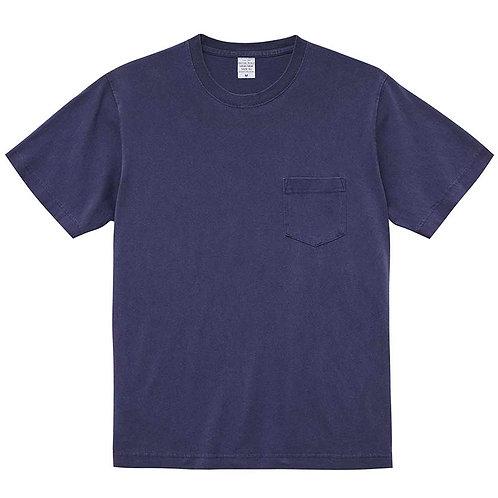 5.6オンス ピグメントダイ Tシャツ (ポケット付)【5029-01】(無地価格)