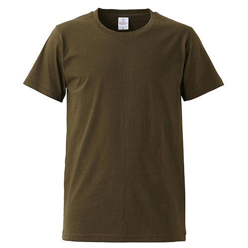 4.7オンス ファインジャージー Tシャツ【5745-01】(無地価格)