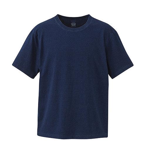 5.3オンス インディゴ Tシャツ【3990-01】(無地価格)