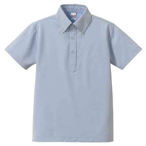5.3オンス ドライカノコ ユーティリティー ポロシャツ(ボタンダウン)【5052-01】(無地価格)