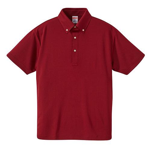 4.1オンス ドライ アスレチック ポロシャツ (ボタンダウン)【5920-01】(無地価格)