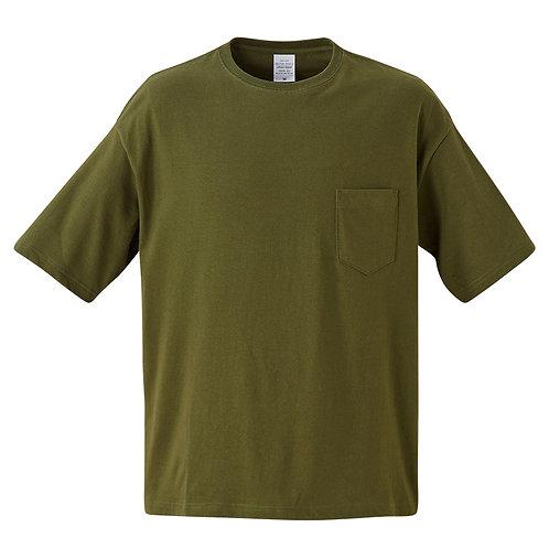 5.6オンス ビックシルエット Tシャツ(ポケット付)【5008-01】(無地価格)