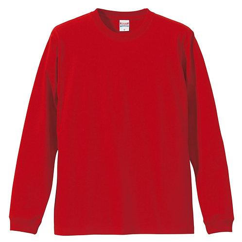 5.6オンス ロングスリーブ Tシャツ(1.6インチリブ)【5011-01】(無地価格)