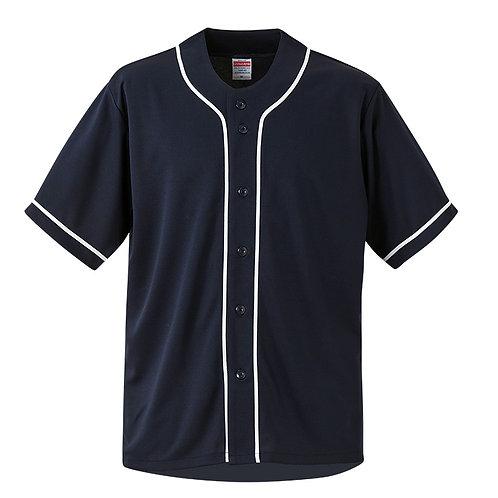 4.4オンス ドライ ベースボールシャツ【1445-01】(無地価格)