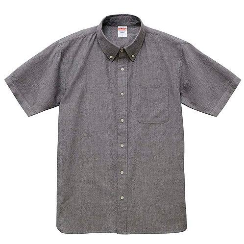 オックスフォード ボタンダウン ショートスリーブシャツ【1268-01】(無地価格)