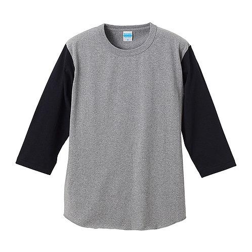 オーセンティック スーパーヘヴィーウェイト7.1オンス ベースボール 3/4スリーブ Tシャツ【4256-01】(無地価格)