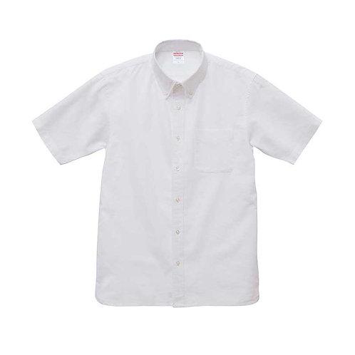 オックスフォード ボタンダウン ショートスリーブ シャツ【1268-01】(無地価格)