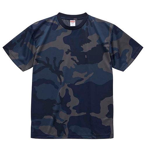 4.1オンス ドライアスレチック カモフラージュ Tシャツ【5906-01】(無地価格)