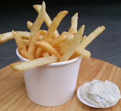 Truffle Fries with Truffle Mayo Dip