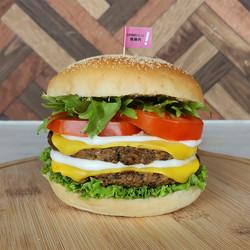 Doublecheese OmniMeat Toona Burger _18.60