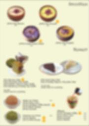 Bistro Menu Smoothies and Dessert 04-01.