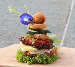 bonsai burger cut