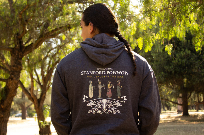Stanford Powwow Official Hoodie