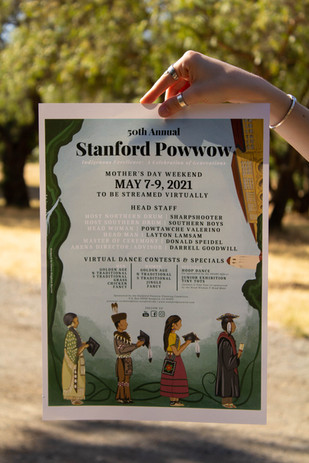 Stanford Powwow Official Poster