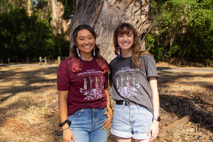 Stanford Powwow Official T-shirts