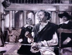 Tragedy: Rembrandt Death of Saskia