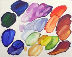 Palette: Chuck Close