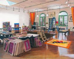 Studio: Philip Taaffe