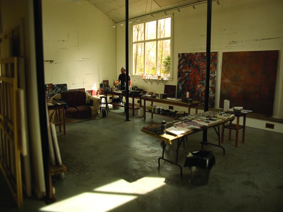 Ross Bleckner 2007