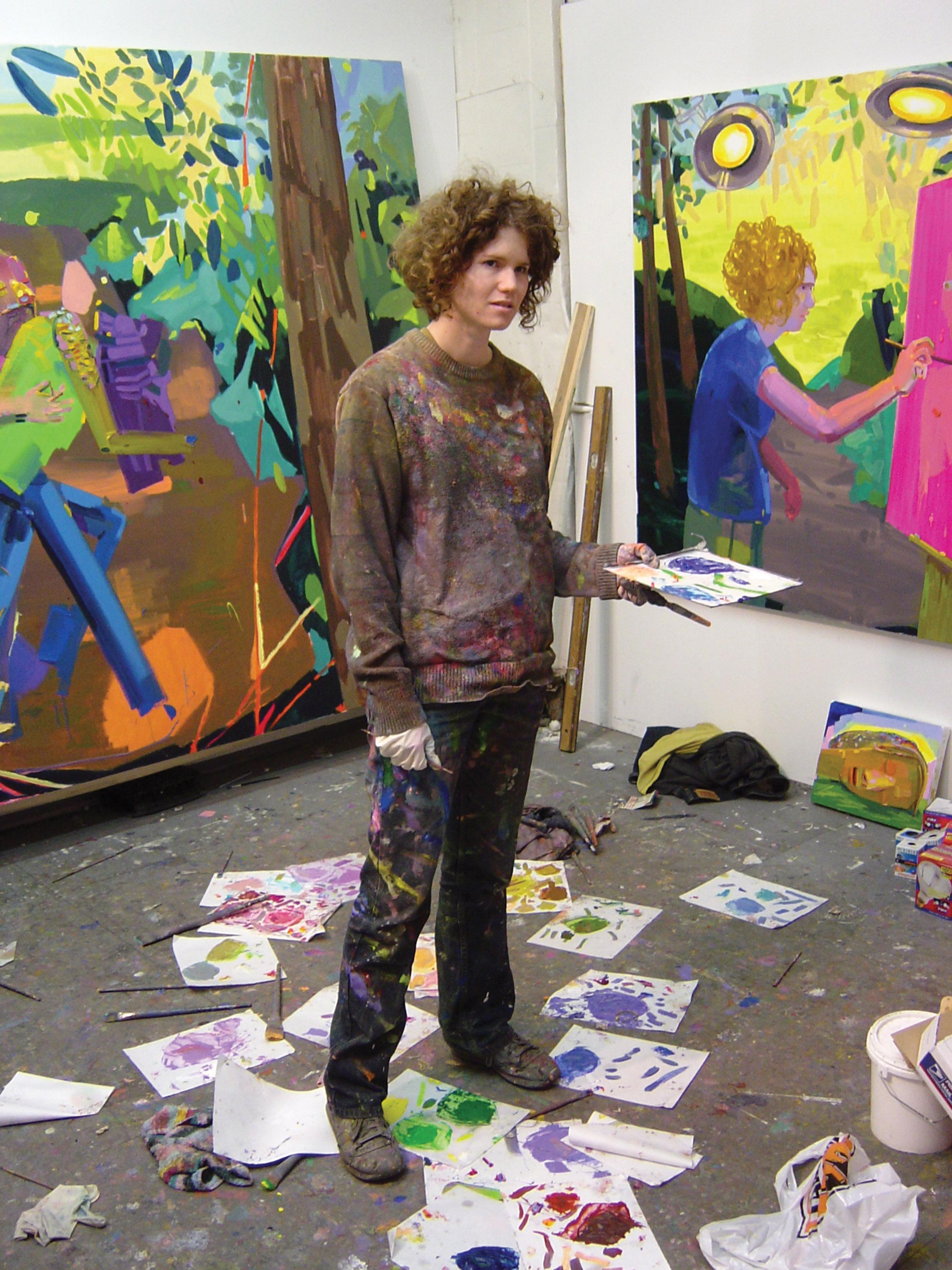 Dana Schutz, Harlam 2003